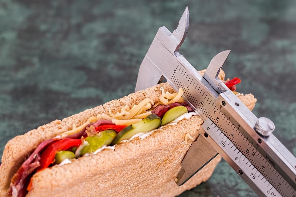إحتساب عدد الحصص الغذائية