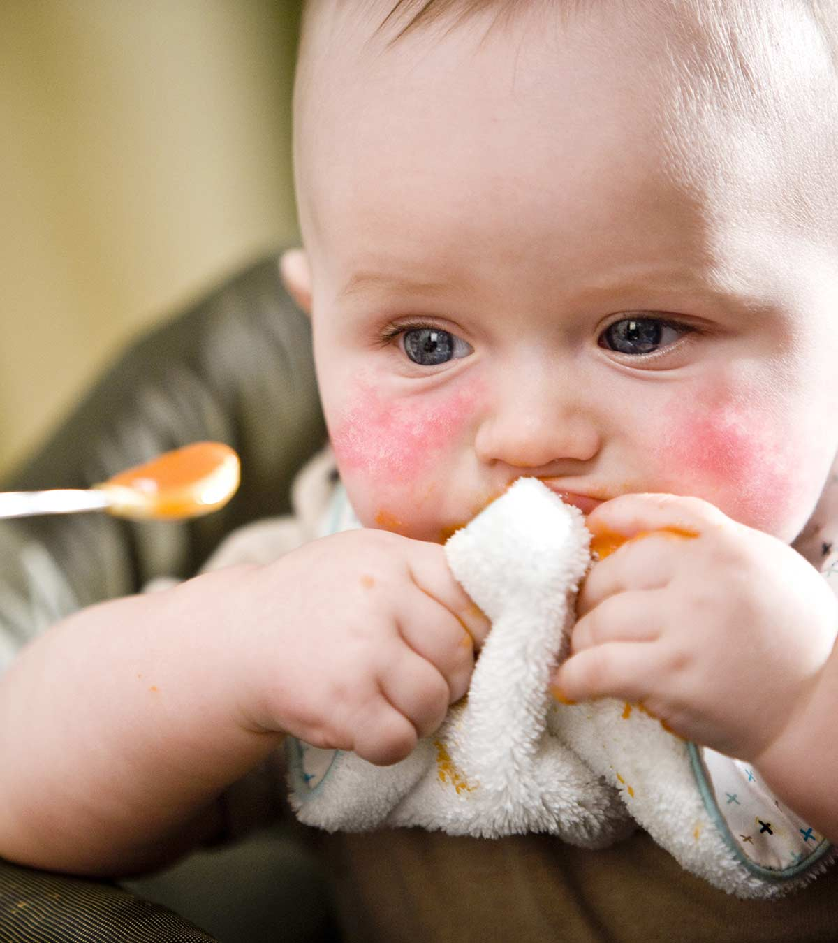 هل يعاني طفلك من حساسية الطعام