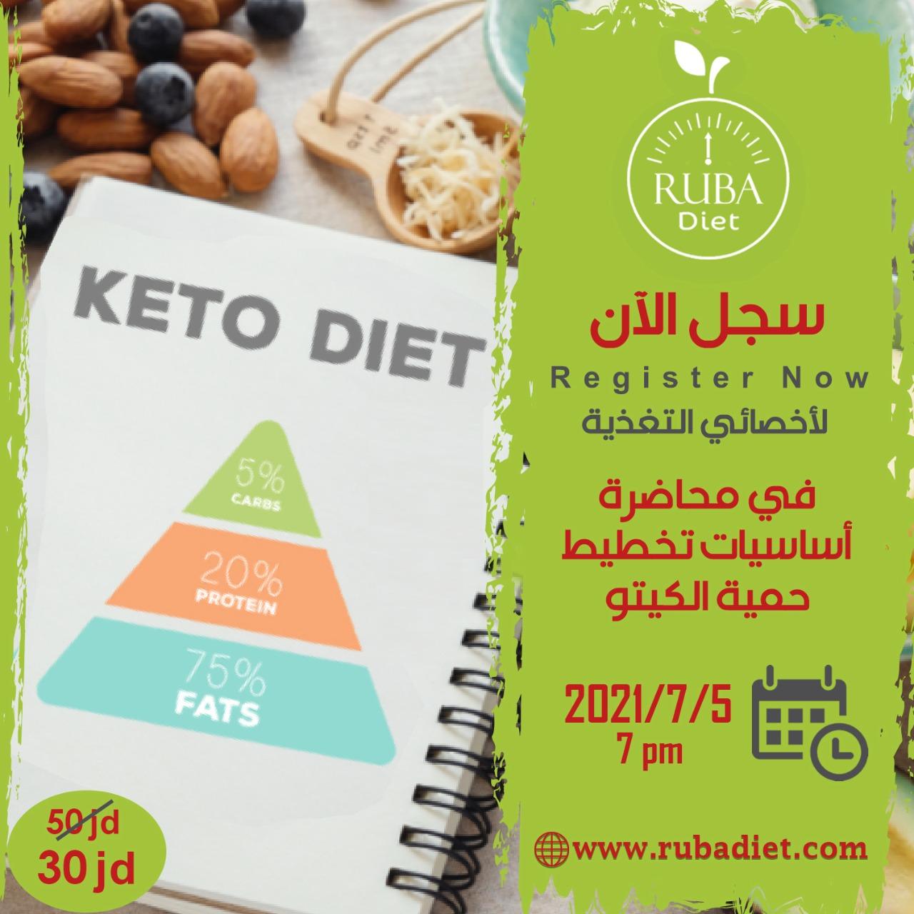 حمية الكيتو  لاخصائيين التغذية
